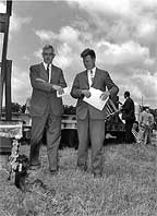 1959 groundbreaking for the Fuels Technology Center
