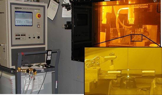 Remotely-Operated Electric Discharge Machine for cladding sample preparation