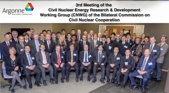Civil Nuclear Energy Research and Development Working Group (CNWG) Technical Meetings