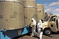 RAP team members are trained in the hazards of radiation and radioactive materials