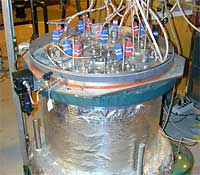 Sodium Reaction Test Chamber